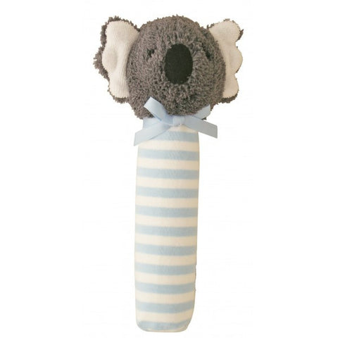 Alimrose Designs Koala Hand Squeaker - Blue Stripe - My Messy Room