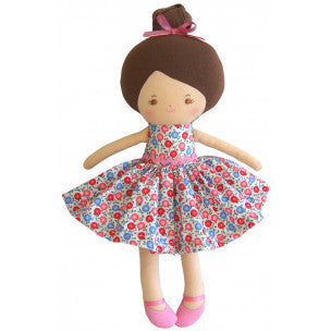 Alimrose Mini Maggie Doll 28cm - Blue Pink - My Messy Room