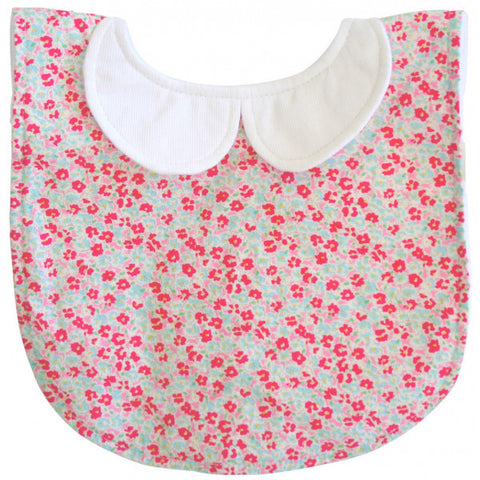 Peter Pan Collar Bib - Sweet Floral