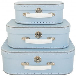 Pale Blue Suitcase - 3 sizes