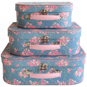 Wildflower Suitcase - 3 sizes
