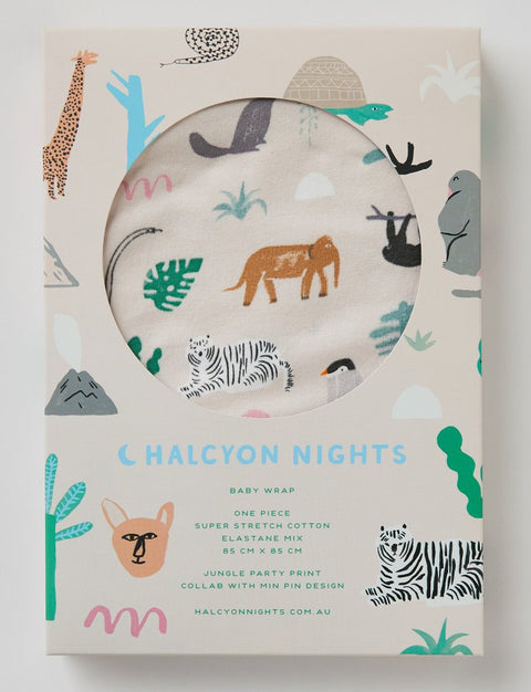 Halcyon Nights Jungle Party Stretch Wrap