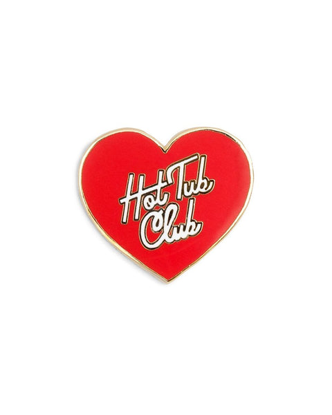 Ban.do Hot Tub Club Pin