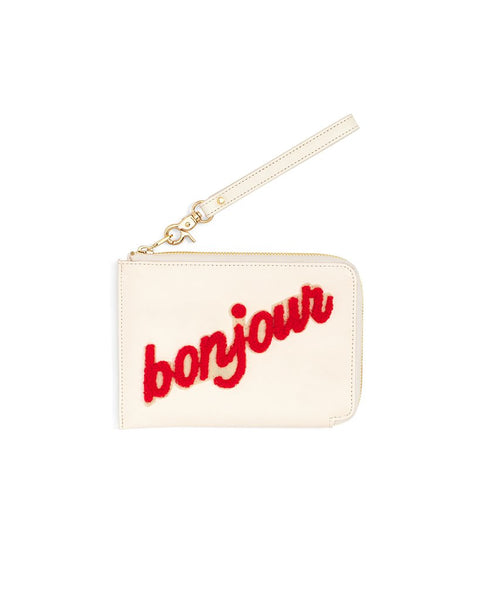 Ban.do Getaway Travel Clutch - Bonjour