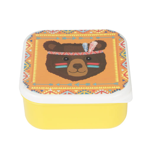 Tribal Bear Snack Box