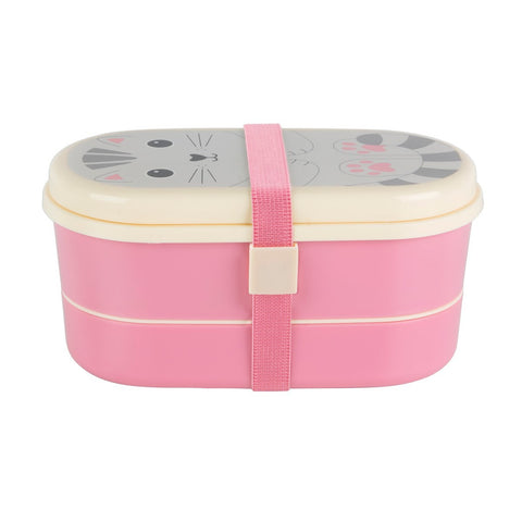 Sass & Belle Bento Lunch Box- Nori Cat