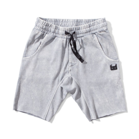 S18 Munster Kids Bleach Track Short - Pigment Grey (Pre-Order)