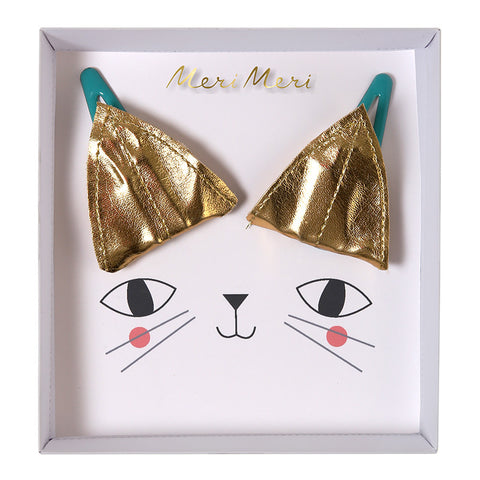 Meri Meri Cat Ears Hairclips