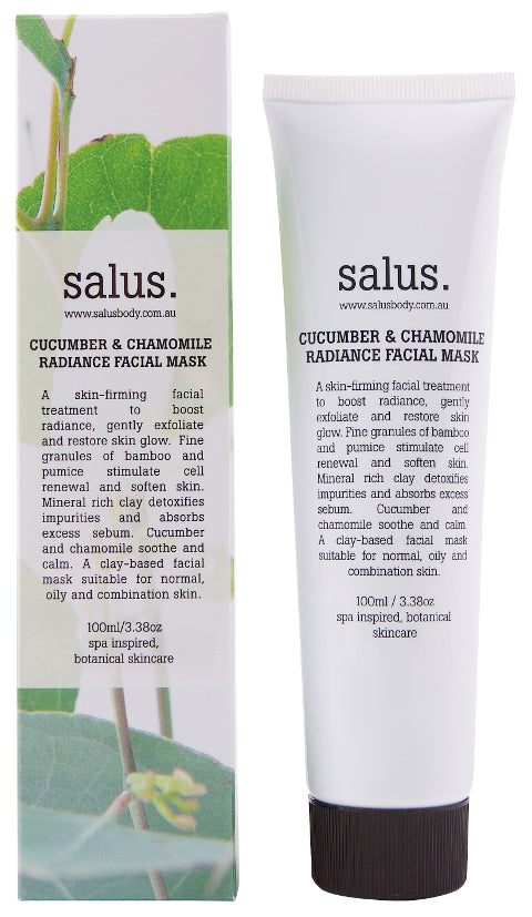 Salus Body Cucumber and Chamomile Radiance Facial Mask 100ml