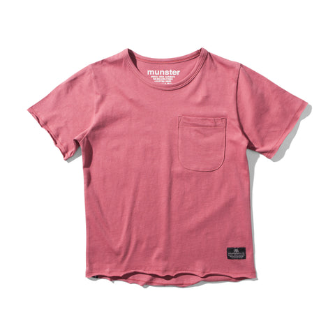 S17 Munster Kids Clasik Tee - Warm Red