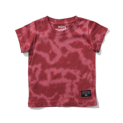 S17 Mini Munster Cloudy Day Tee - Warm Red