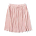 S18 Missie Munster Coco Pleated Metallic Skirt - Blush