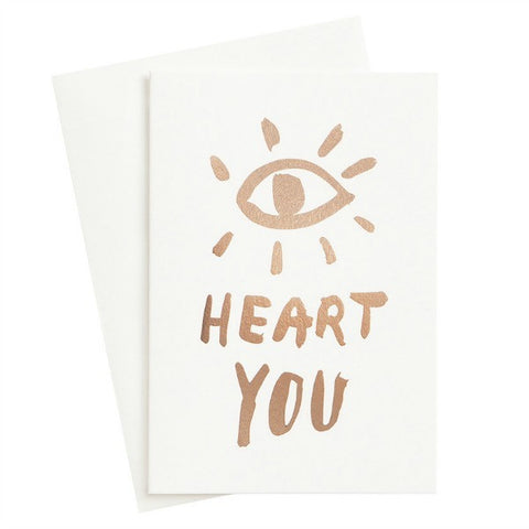 Eye Heart You Foil Card - My Messy Room - 1