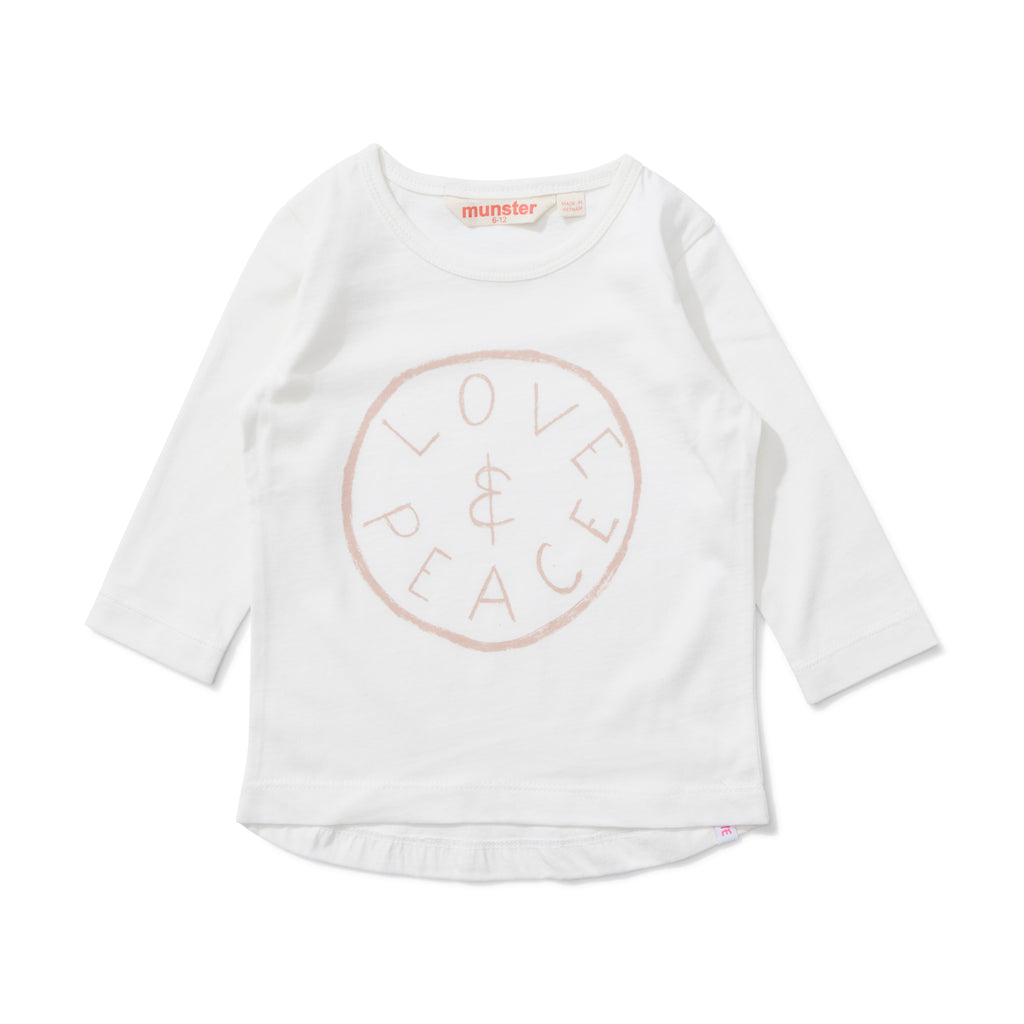 W18 Lil Missie Dreams Tee - Cream
