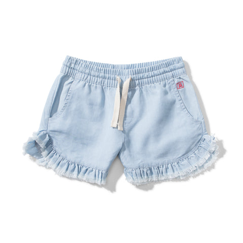 S18 Missie Munster Espi Chambray Short - Bleach Blue  (Pre-Order)