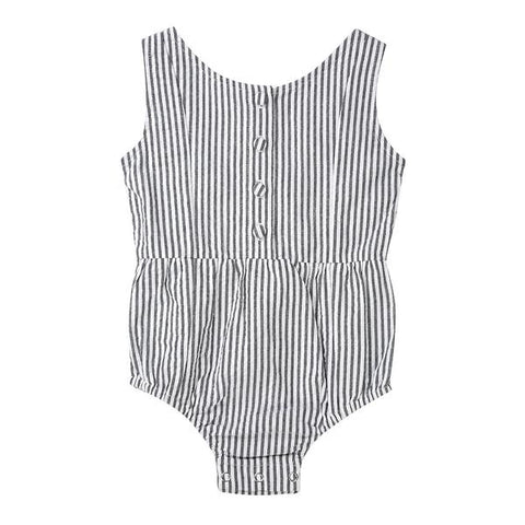 S17 Minouche Evie Playsuit - Cotton Seersucker