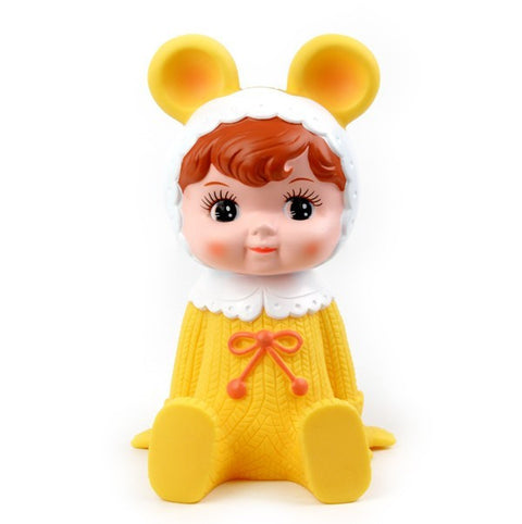 Lapin & Me Money Box - Yellow - My Messy Room - 1