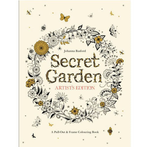 Secret Garden Artist's Edition by Johanna Basford - My Messy Room
