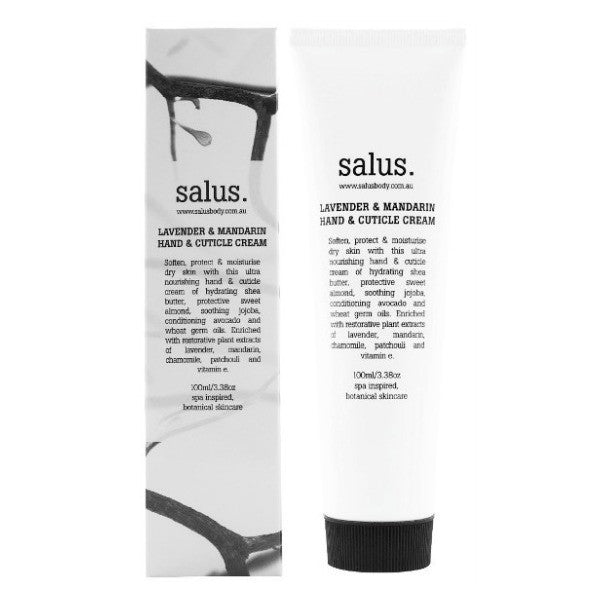 Salus Body Lavender & Mandarin Hand & Cuticle Cream - 100ml - My Messy Room