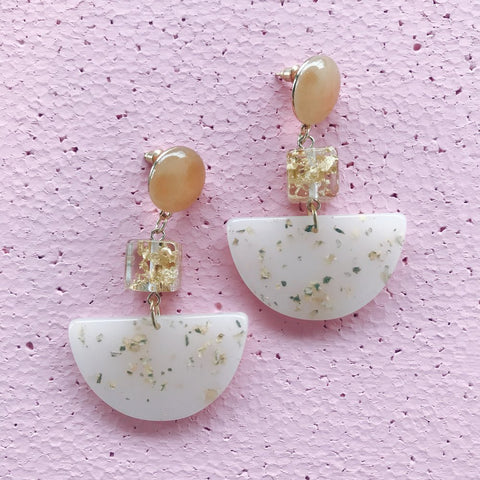 Peach-It Glossie Earring