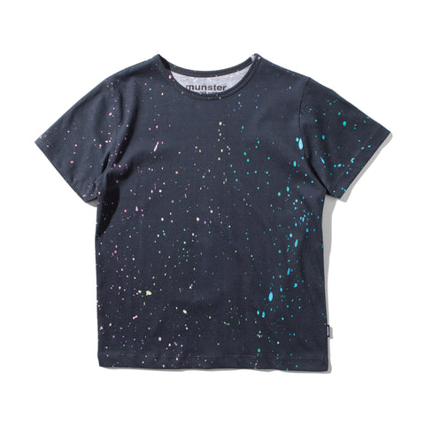 S17 Munster Kids Glow Splat Tee