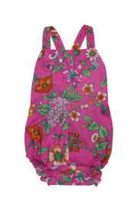 S18 Coco And Ginger (Baby) Hibiscus Sunsuit