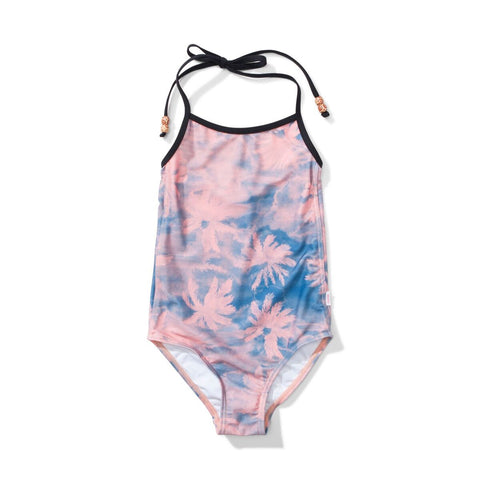 S17 Missie Munster Hula Swimsuit - Palm Dye Pink