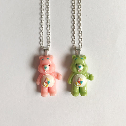 MMR Social Club Care Bear Kite Necklace