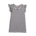 S17 Missie Munster Jazzy Dress - Black Stripe