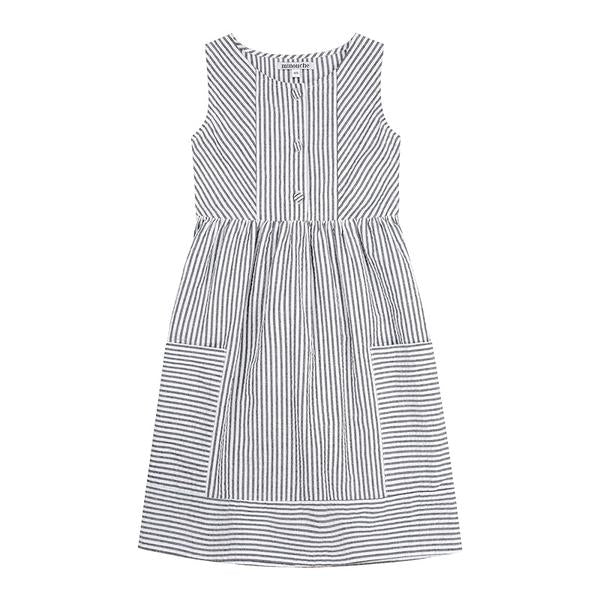 S17 Minouche Kate Dress - Cotton Seersucker