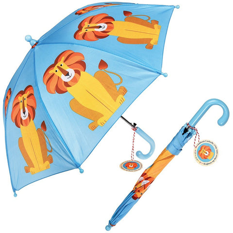 Colourful Creatures Umbrella - Lion