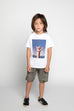 S18 Munster Kids Loose Tee - White