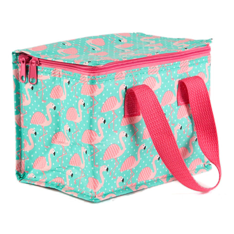 Sass & Belle Lunch Bag- Flamingo