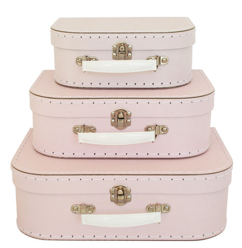 Pale Pink Suitcase - 3 sizes