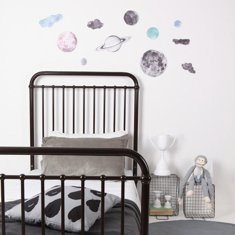 Love Mae Fabric Wall Decal - Night Sky