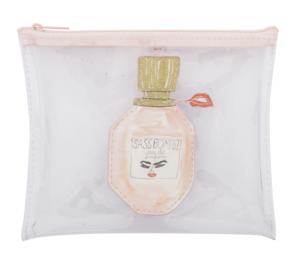 Bouffants And Broken Hearts Perfume Pouch 14x18cm
