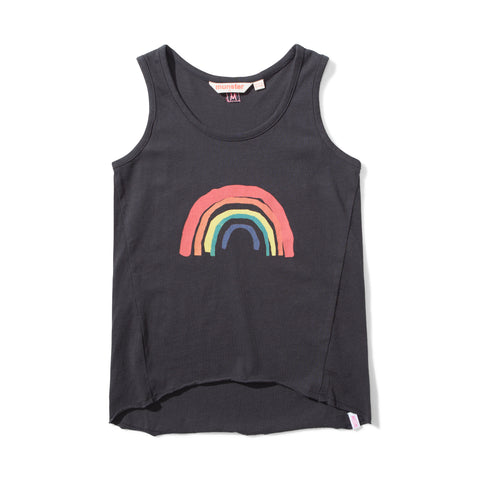 S18 Missie Munster Pots Of Gold Singlet - Soft Black
