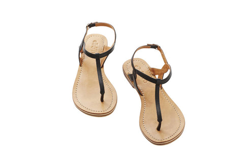 Eb and Ive Lagos Sandal - Black