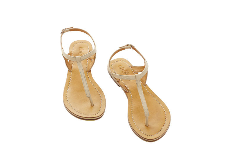 Eb and Ive Lagos Sandal - Ivory