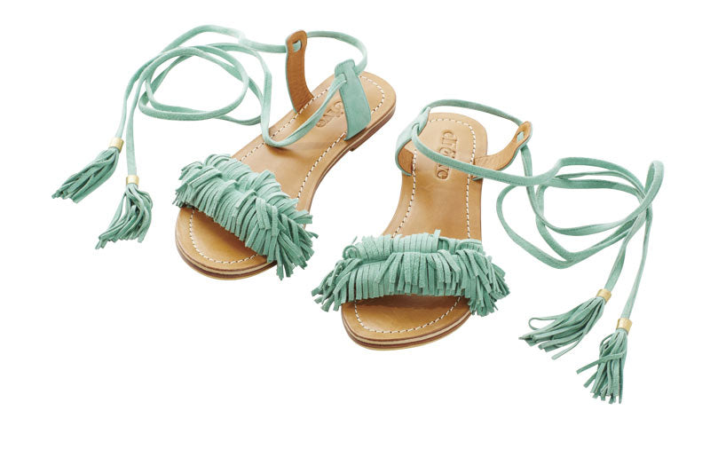 Eb and Ive Ra Ra Sandal - Cayman Mint