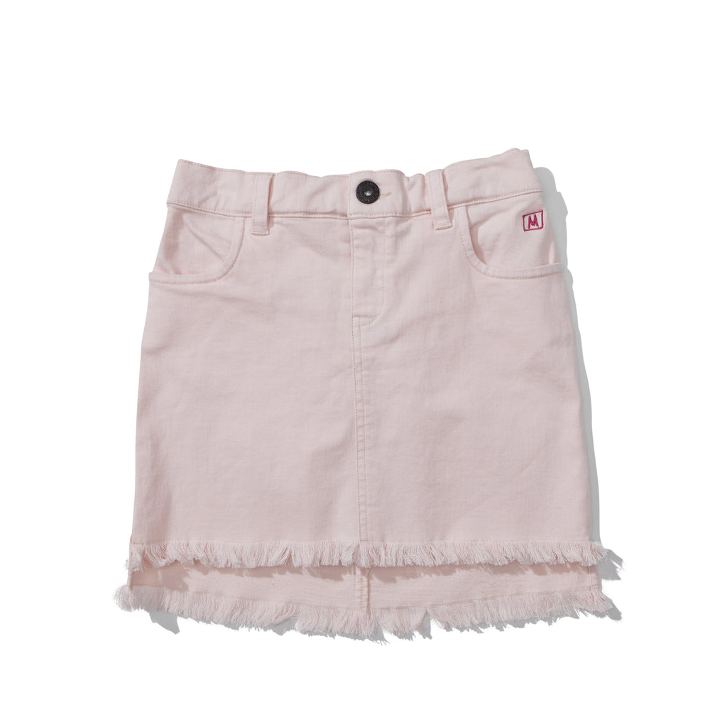 S17 Missie Munster Rosehip Denim Skirt