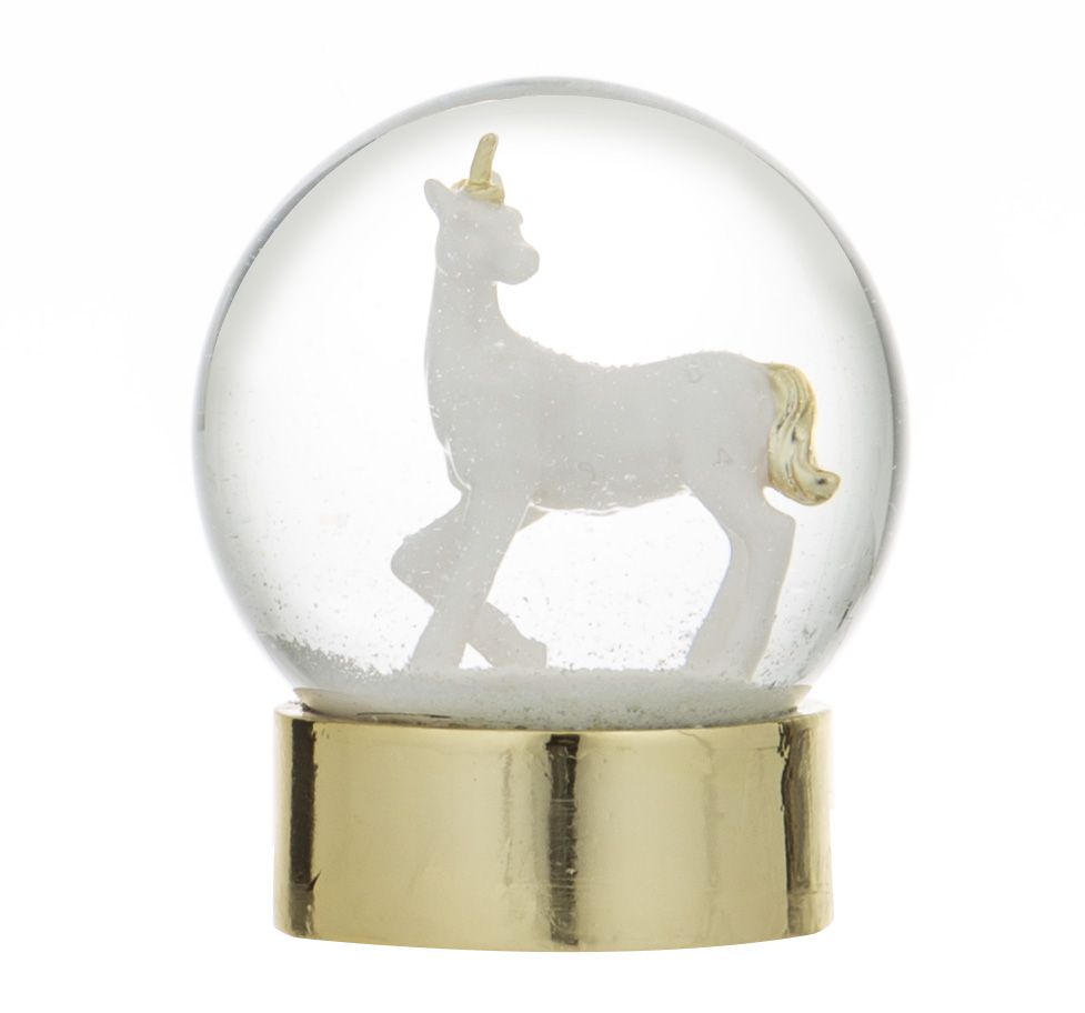 Emporium Unicorn Snow Globe