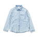 W18 Missie Munster Sunkissed Denim Shirt - Bleached Blue