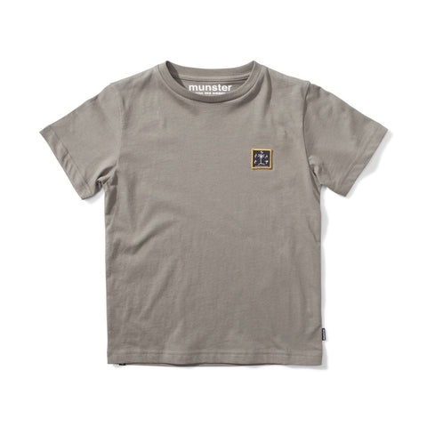 S18 Munster Kids The Goods Tee - New Olive (Drop 2)