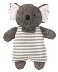 Alimrose Koala Toy Rattle Stripe  - Grey