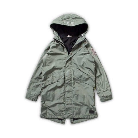 W18 Munster Kids Travel Hooded Parka Jacket