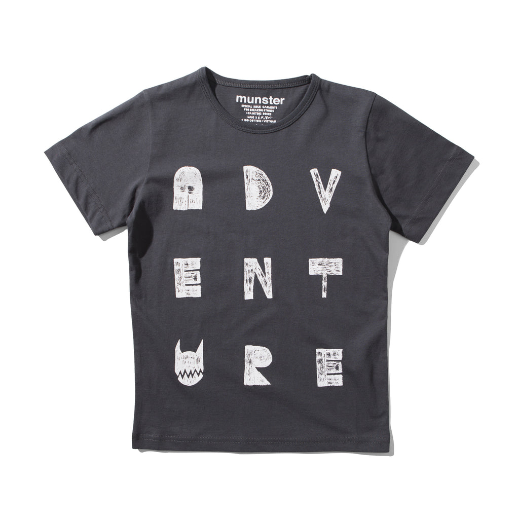 S17 Munster Kids Venture Tshirt - Black
