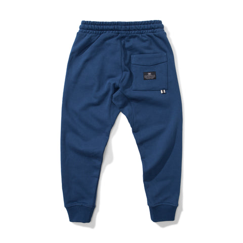 W18 Munster Kids Weekend Trackpant - Blue