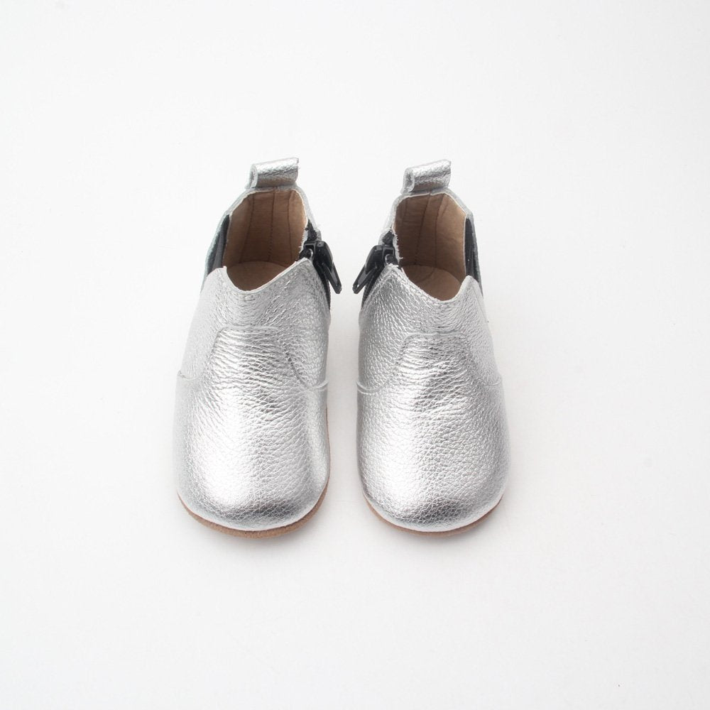 Sienna Baby Woah Nelly Boots - Silver
