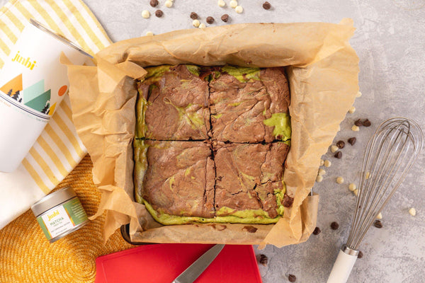 How to Prepare Matcha Cheesecake Brownies - Junbi